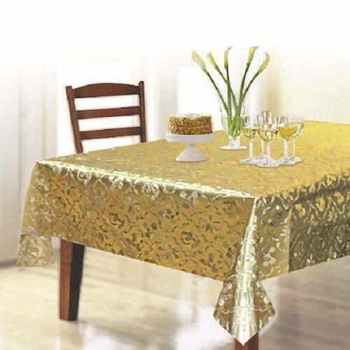 Khăn trải bàn 3D 137x137cm