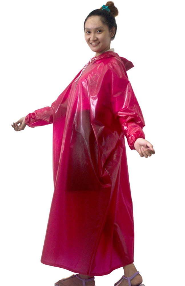 Áo mưa bít hông nhựa