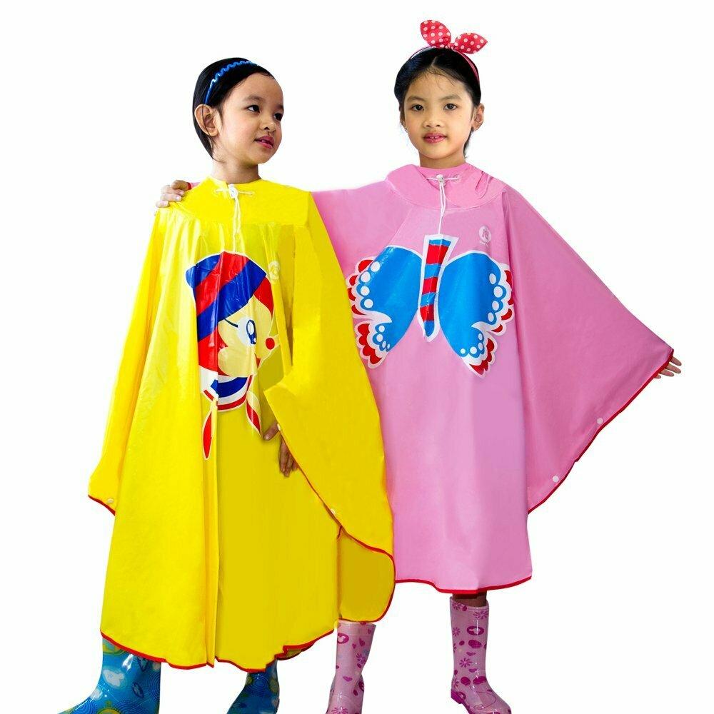 áo mưa cánh bướm trẻ em